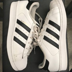 Kids Adidas Superstar Sz 4.5